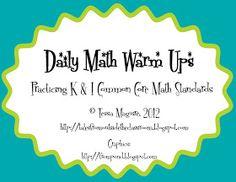 Classroom Freebies: Spiral Math Review