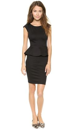 Alice + Olivia Peplum Dress ON SALE!!