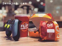 Smart gamers wont let the tummy empty 🐼 #sewaps3 #sewaps4 #rentalps3 #rentalps4 #ps4harian #ps3harian #sewaps4jakarta #sewaps4tangerang #ps4photography #ps4games #flipburger . Book now : 081906060620