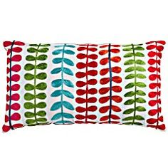 Bright Leaves Embroidered Pillow    NOW $19.96