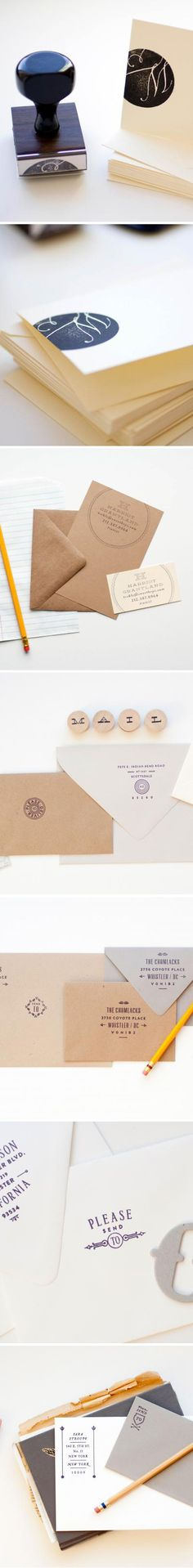Stamps for Wedding Invites | Visit our website: www.mylemariage.com  #LeMariage #Wedding #Magazine #Indonesia