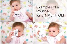 Example Routine for a 4 Month Old