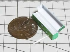 miniature saran wrap - how to make wrap for dollhouse kitchen step-by-step pictures)