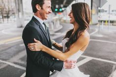 Read More on SMP: http://www.stylemepretty.com/2013/12/24/urban-seattle-holiday-wedding/