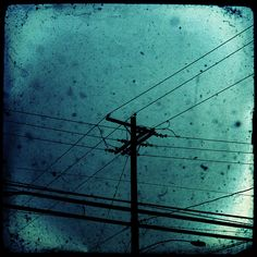 """The wet air was as cold as the ashes of love.""  ― Raymond Chandler, Farewell, My Lovely (photot wires. - by corey)"