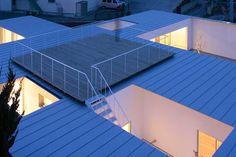modern roof deck
