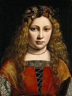Giovanni Antonio Boltraffio (Italian, c. 1466-1516) Portrait of a Youth Crowned with Flowers (c. 1490) Oil on panel, 39.1 x 28.9 cm. The North Carolina Museum of Art, Raleigh (Gift of the Samuel H. Kress Foundation) https://scontent-arn2-1.xx.fbcdn.net/v/t1.0-9/1526552_469620993143275_1687932279_n.jpg?oh=f415c58e232efa241285fae4a8aa76a7&oe=5846D2A9