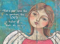#angel #painting by Teresa's Creative Whims