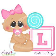 Alphabet Baby ~L~SVG-MTC-PNG plus JPG Cut Out Sheet(s) Our sets also include clipart in these formats: PNG & JPG