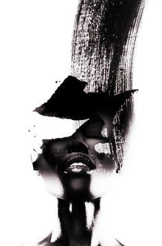 """AM Artworks - """"Black Rain"""". Info Sale: pil4r@routetoart.com"""