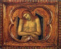 Pietro Lorenzetti - scuola senese - Vir dolorum - 1320-1325 - Museo «Amedeo Lia», La Spezia