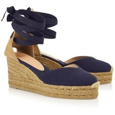 efd929c3303 Castaner Chiara Wedge Espadrilles ( 105) ❤ liked on Polyvore featuring shoes