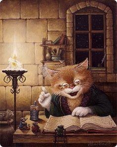 diy mazayka diamond painting Love cat crafts cross-stitch kits mosaic icons picture of rhinestones diamond embroidery cartoon Art And Illustration, Tier Fotos, Cat Crafts, Cat Art, Cats And Kittens, Illustrators, Fantasy Art, Fairy Tales, Drawing