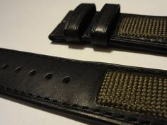 Fusion: Nato & Leather. watch straps from Maurice de Mauriac. http://mauricedemauriac.ch  watches, watch straps, straps for watches