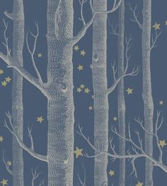 Woods & Stars Wallpaper by Cole & Son | Jane Clayton