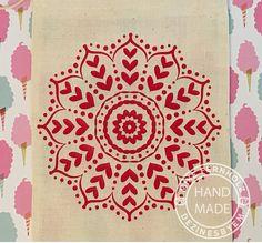 Mandala Heart SVG. Great for Valentine's gift. Heart