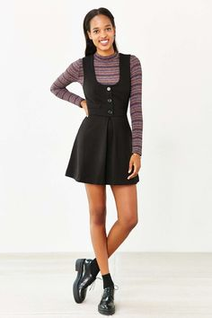 Alice & UO Dariane Pinafore Dress - Urban Outfitters
