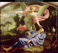 The Dream of Elijah, 1650-55 - Philippe de Champaigne - www.philippedechampaigne.org