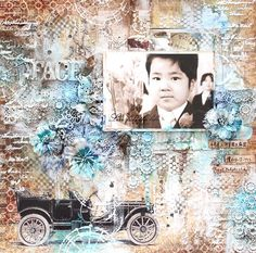 Hello everyone! Kaori here to share my layout using The Gentleman collection.I created this...