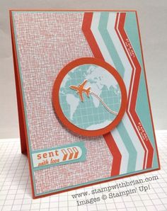 Sent with Love, Sent with Love Designer Series Paper, Stampin' Up!, stampwithbrian.com