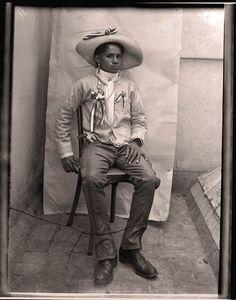 Jeune révolutionnaire mexicain, 1912. #mexican #revolutionary #revolucion #mexicana #mexique #archive #revolution