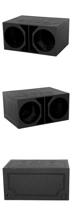 Speaker Sub Enclosures: New Q Power Qbomb15vl Dual 15 Vented Extra Large Subwoofer Enclosure Qbomb -> BUY IT NOW ONLY: $199.99 on eBay!