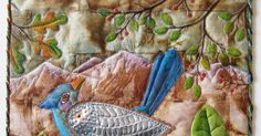 Take These Broken Wings Judy Coates Perez x Tea bags, aluminum & copper sheeting, textile paint quilting Illustra. Used Tea Bags, Tea Bag Art, Broken Wings, Book Quilt, Couple Weeks, Colored Pencils, Fiber Art, Art Ideas, Mixed Media