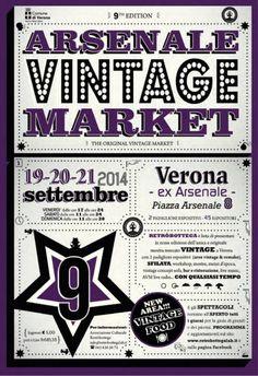 Arsenale Vintage Market a Verona @gardaconcierge