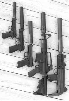 In the zombie apocalypse you will need to conserve your ammo. Only use your weapon as a last resort. Any noise Will draw unwanted attention. Pick a weapon with common readily available ammo. Apocalypse Survival, Survival Gear, Zombie Apocalypse, Weapons Guns, Guns And Ammo, Rifles, Armas Ninja, Assault Weapon, Fire Powers