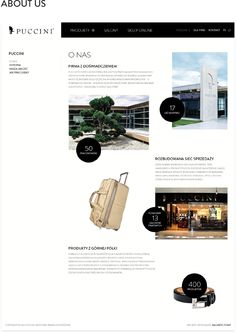 Puccini – Website