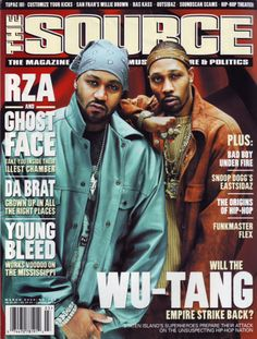 RZA and GhostFace