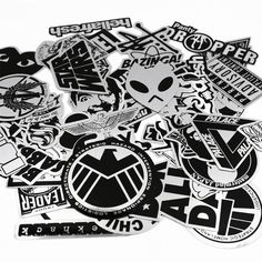 UTSAUTO Graffiti Stickers Decals Pack of 50 pcs Car Stickers Motorcycle Bicycle Skateboard Luggage Phone Pad Laptop Stickers And Bumper Patches Decals Waterproof (Type 5)