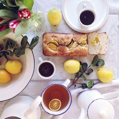 Plumcake vegan al limone {e semi di papavero}