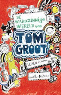 De waanzinnige wereld van Tom Groot. Via het dagboek van Tom maken we kennis met een groot striptekenaar, een briljante musicus (al is er tot nu toe niemand komen luisteren naar zijn tweemansband) en een meester in het verzinnen van smoesjes.
