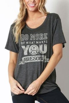 Do More Awesome Loose-Fit Tee