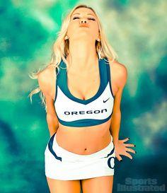 Stephanie, Oregon cheerleader