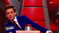Mika being classy on The Voice France(1/11/2014)