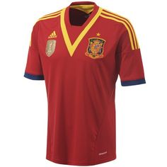 adidas Spain Home Jersey 2013
