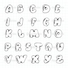 Patched Up Alphabet Hand Lettering Alphabet, Doodle Lettering, Creative Lettering, Lettering Styles, Calligraphy Letters, Cute Fonts Alphabet, Alphabet Writing, Doodle Alphabet, Tattoo Fonts Alphabet