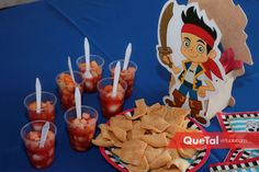 Mesa de dulces | Quetal Virtual #piratas #fiesta #niños