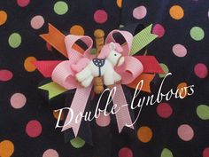 Carousel Ride Toddler bows M2M Gymboree baby line by Doublelynbows, $10.00