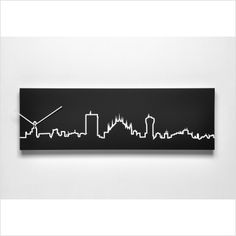 I'm thinking white room, black panels, once black accent wall with the skyline! Black Accent Walls, Black Accents, Skyline, Room, Home Decor, Bedroom, Decoration Home, Room Decor, Rooms