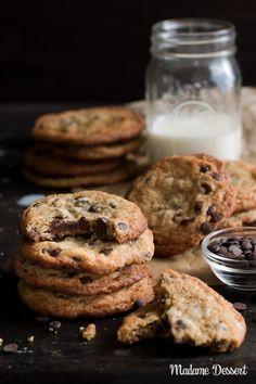 Chewy Chocolate Chip Cookies Rezept | Madame Dessert
