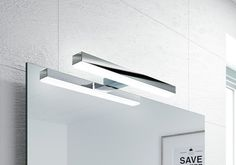 VERONICA 2 LED svítidlo, 8W, 300x25x83mm, chrom, SAPHO E-shop Veronica, Wall Lights, Led, Lighting, Shopping, Home Decor, Appliques, Decoration Home, Room Decor