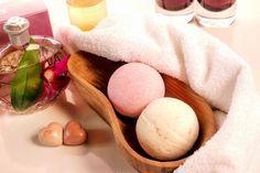 Badezusätze - Rezept zum selber machen für Badekugeln mit Patchouli Duft