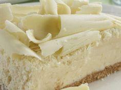 Torta gelada de chocolate branco -