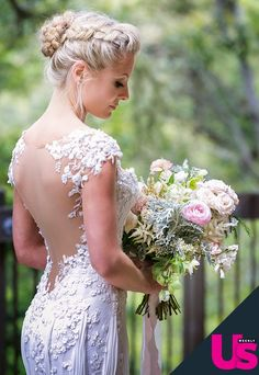 Kaitlin Doubleday stuns in a custom Mark Zunino Atelier wedding dress! Check out the pictures!