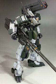 GUNDAM GUY: HG 1/144 Armored Graze Kai - Custom Build