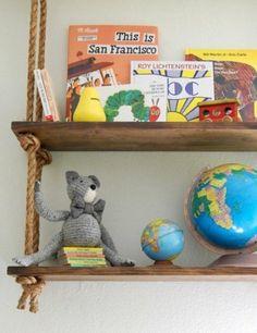 étagère à livres chambre enfant