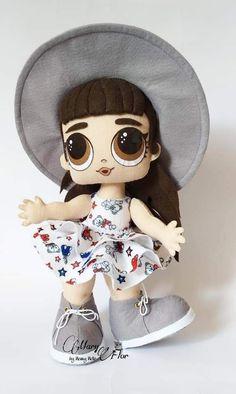 Homemade Cloth Dolls, Cute Teddy Bears, Lol Dolls, Cute Diys, Diy Doll, Fabric Dolls, Doll Toys, Kids Toys, Doll Clothes